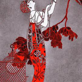 Art Deco Fashion in 1914 by Susan Maxwell Schmidt