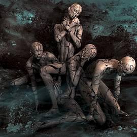 Art fantasy-human-mysticism-mystical by Khaled Elsharkwy
