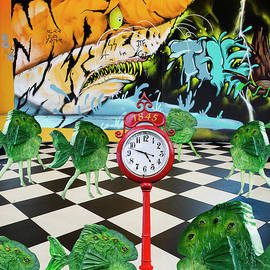 Art Gallery Closing In Twelve Minutes by Bob Christopher