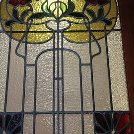 Art Nouveau Windows #2 by Michaela Perryman