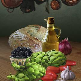 Artichoke Salad by Spadecaller