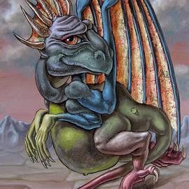 Artistic Dragon by Victor Molev