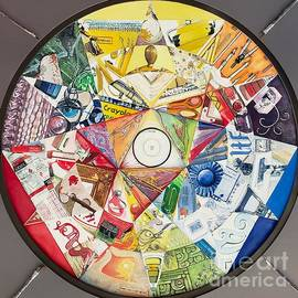 Artist's Color Wheel by Merana Cadorette
