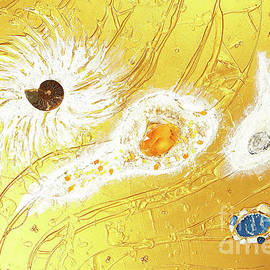 Artscape No. 2 The golden peace flow of creation by Heidi Sieber