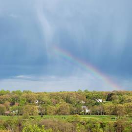 As The Rain Falls, The Rainbow Appears by Karol Livote