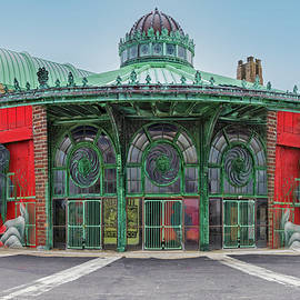 Asbury Park Carousel NJ by Susan Candelario