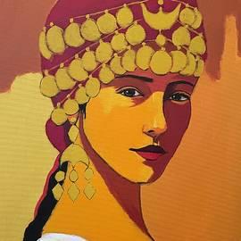 Assyrian Girl  by Paul Batou