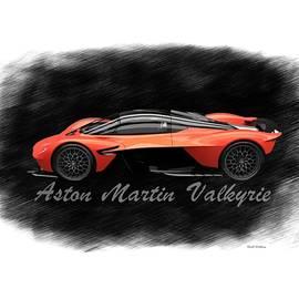 Aston Martin Valkyrie  by Scott Wallace Digital Designs