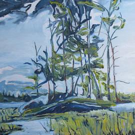 At Barbue Lake Frontenac National Park QC Canada by Francois Fournier