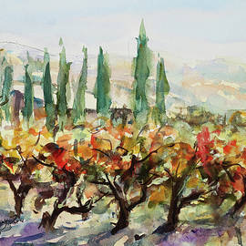 At Guglielmo Winery in Morgan Hill California by Xueling Zou