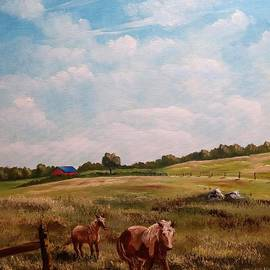 At Home On The Ranch by Lee Piper