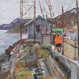 At Teriberka berth by Juliya Zhukova