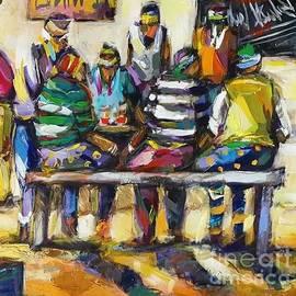 At The Bar by Allen Kupeta