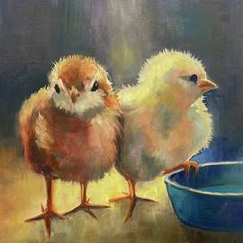 At the Office Water Cooler by Kathleen Meador
