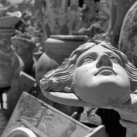 At the potter's workshop by Spyros Lambrou