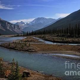 Athabasca River by Eva Lechner
