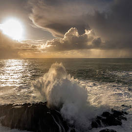 Atlantic Ocean Afternoon by Bjartur Vest