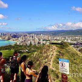 Atop Diamond Head Crater by Craig Wood
