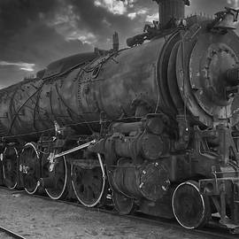 ATSF No 2912 - BW by Tony Baca