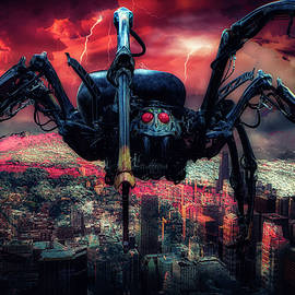 Attack of the Robot Spider by Phil Sampson