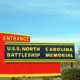 Attraction Sign In North Carolina by Cynthia Guinn