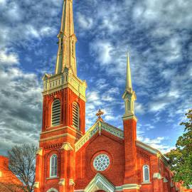 Augusta GA The Christian Church Disciples of Christ Historic Architectural Art by Reid Callaway