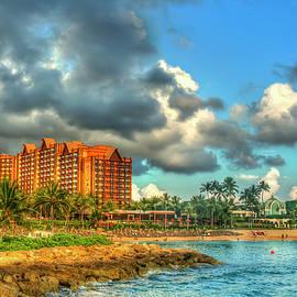 Aulani Disney Resort and Spa 2 Destination Paradise Oahu Hawaii Seascape Art by Reid Callaway