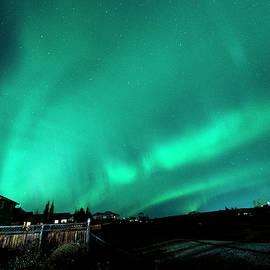 Aurora Borealis Overhead by Philip Rispin