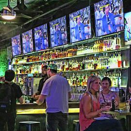 Austin Bar Scene by Allen Beatty