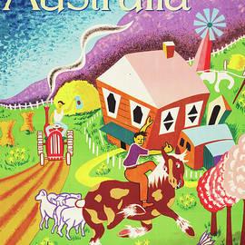 Australia Land of Tomorrow by Joe Greenberg