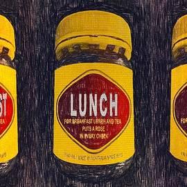 Australiana Pop Art Breakfast Lunch Tea by Joan Stratton