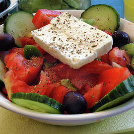 Authentic Greek Salad by Phil Cardamone