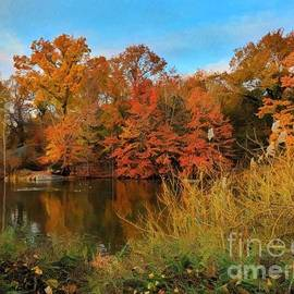 Autumn Afternoon - Prints - Puzzles - and More by Miriam Danar