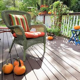 Autumn and Peace on The Deck