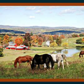 Autumn Arrives at Waterwheel Farm by Marilyn DeBlock