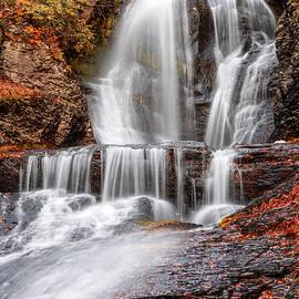 Autumn At Dingmans Falls  by Susan Candelario