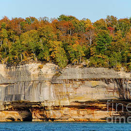 Autumn at Pictured Rocks National Lakeshore Four by Bob Phillips