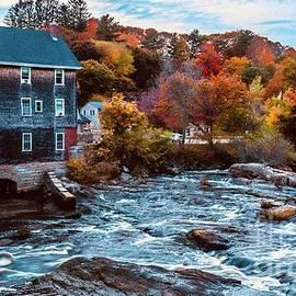 Autumn at the Mill by Joe Faragalli