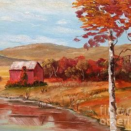 Autumn Barn by Lee Piper
