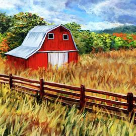 Autumn Barn  by Steph Moraca