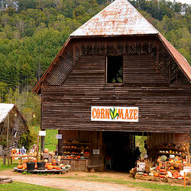 Autumn Barn Valle Crucis by Dianne Sherrill