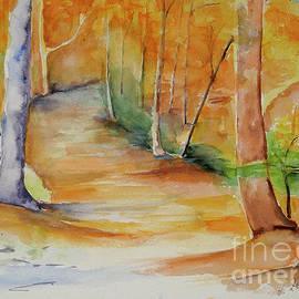 Autumn Beech Forest by Johanna Zettler