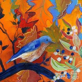 Autumn Bluebird by Robin Pedrero
