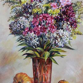 Autumn bouquet by Leonid Polotsky