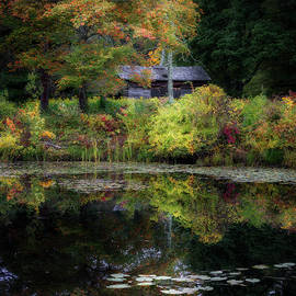 Autumn Cabin by Bill Wakeley