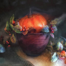 Autumn Centerpiece  by Lois Bryan