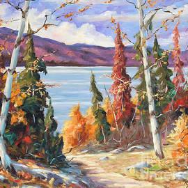 Autumn colors by Richard T Pranke