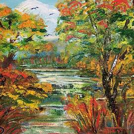 Autumn Falls in Tennessee by Catherine Ludwig Donleycott