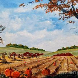 Autumn Farm Harvest by Lee Piper