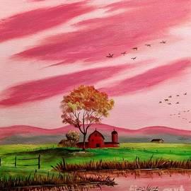 Autumn Farm by Lee Piper